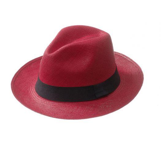 Panama-šešir - CLASSIC Red
